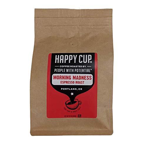 Happy Cup Coffee, Coffee Espresso Roast, 12 Ounce