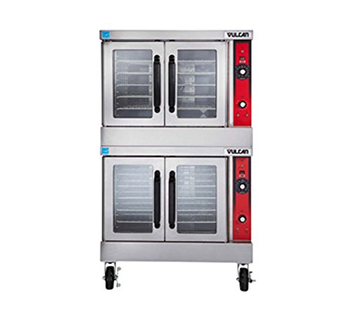 Vulcan VC44EC Convection Oven electric double-deck standard depth 12.5kW each se Double Deck Convection Oven