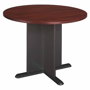 bush furniture round conference table hansen cherrygalaxy amazoncom bush furniture bow