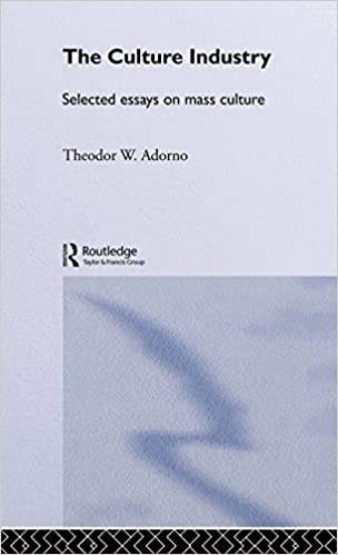 The Culture Industry: Selected Essays on Mass Culture (Routledge Classics) by Theodor W Adorno (2001-06-27)