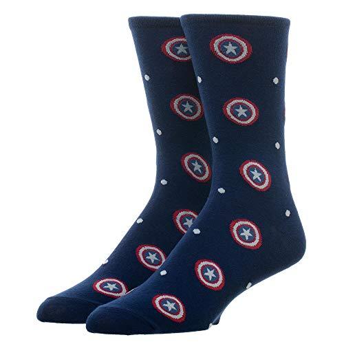 Captain America Men's Dress Socks from Bioworld