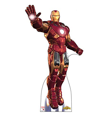 Advanced Graphics Iron Man Life Size Cardboard Cutout Standup - Marvel: Contest of Champions]()
