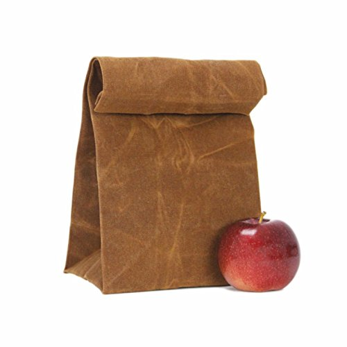 You Tube Christmas Shoes (Natural Waterproof Handmade Lunch Bag, reusable Waxed Canvas Unique Lunch Box, Picnic Bag, School Bag for Men Women Ladies Girls Children Kids Student – Pari Creations)
