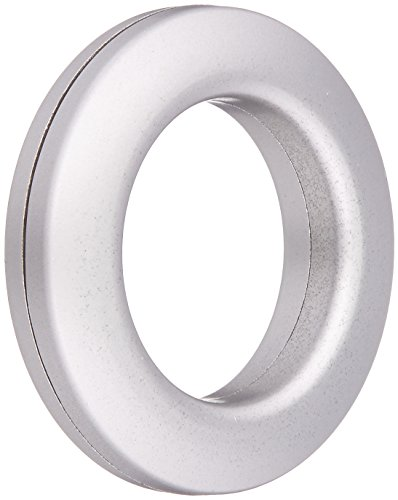 Dritz 44373 Curtain Grommets, Satin Nickel, 1-Inch, 8-Pack