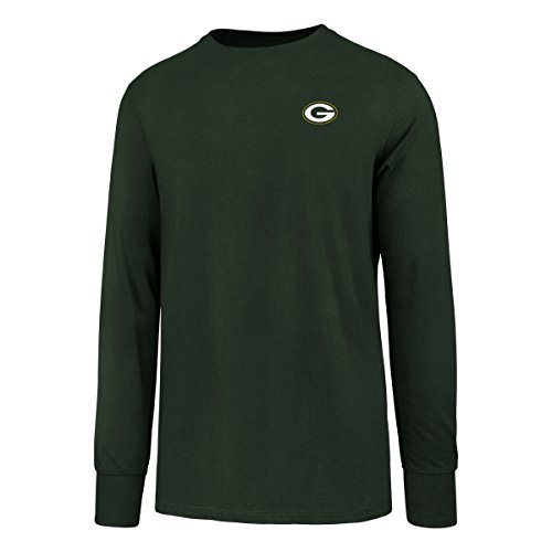 NFL Green Bay Packers Men's OTS Rival Long Sleeve LCCB Tee, Dark Green, XX-Large
