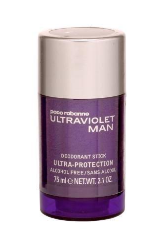 Paco Rabanne ULTRAVIOLET MAN deodorant stick alcohol free...