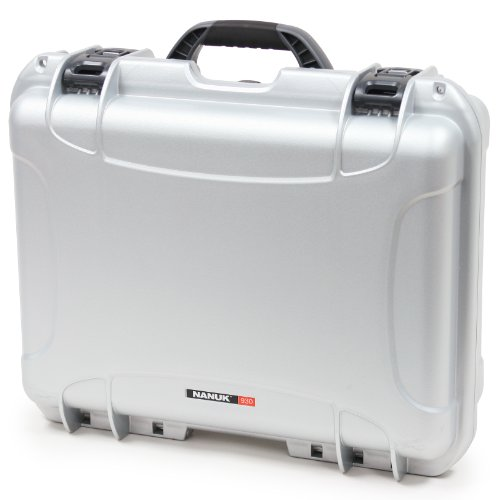 Nanuk 930 Case with Padded Divider (Silver), Best Gadgets
