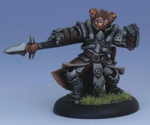Iron Kingdoms Miniatures: Magus Damien Sperling, Cygnaran Warcaster
