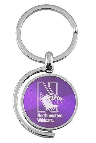 Amazon.com: Noroeste Universidad – Spinner Llavero, color ...