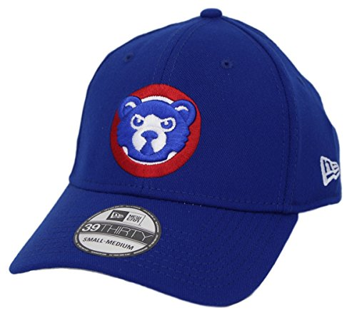 New Era Chicago Cubs MLB 39THIRTY Cooperstown Classic Custom Flex Hat - Blue