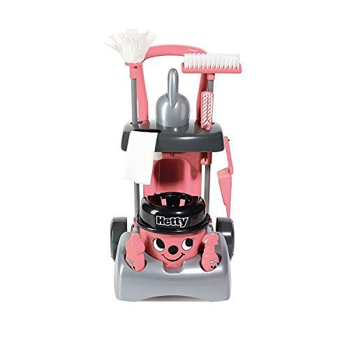 Casdon Little Cook Deluxe Hetty Cleaning Trolley, - Trolley Deluxe
