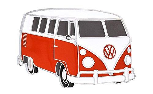VW Volkswagen Red Classic Van Full Metal Belt (Full Metal Buckle)