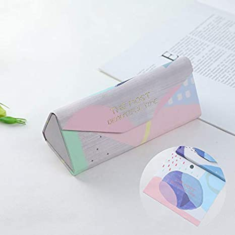 GFDGSDH Estuche de anteojos para anteojos con Caja de Gafas ...