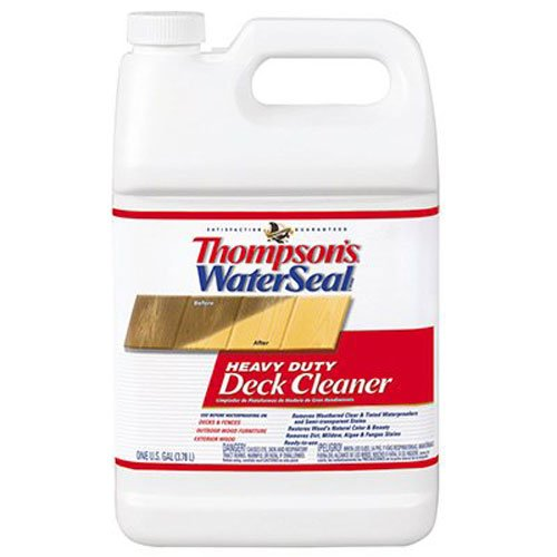 Thompson's TH.087701-16 Waterseal Heavy Duty Deck Cleaner, 1 gallon (Thompson's Water Seal Outdoor Furniture)