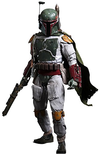 "Hot Toys Star Wars 4 Return of the Jedi Boba Fett 1/4 Quarter Scale 18"" Action Figure"