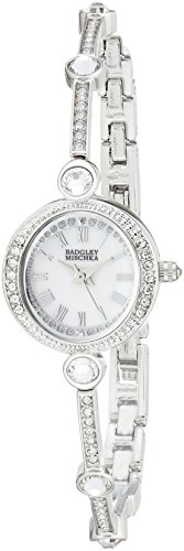 badgley-mischka-womens-ba-1351wmsb-swarovski-crystal-accented-silver-tone-bangle-watch