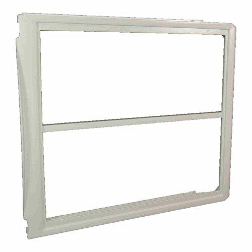 (Frigidaire 240599302 Refrigerator Crisper Drawer Cover Frame, Upper Genuine Original Equipment Manufacturer (OEM) Part for Frigidaire, Kenmore Elite, Electrolux)
