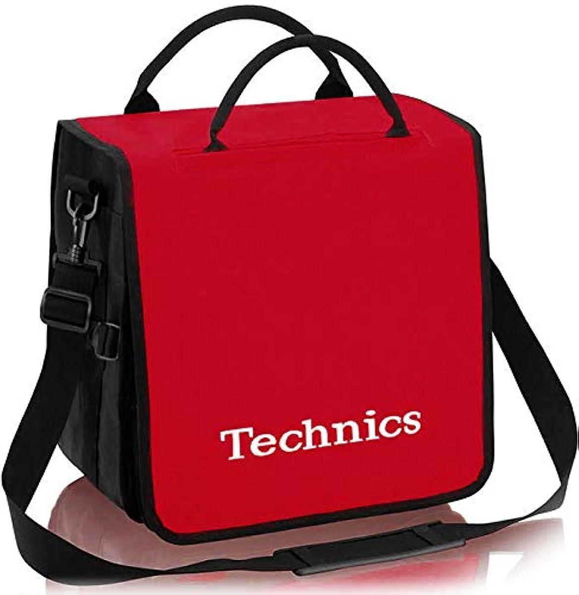 [해외] TECHNICS테크닉스 / BACKBAG RED 레코드 약60 매수납가 레코드 화이트