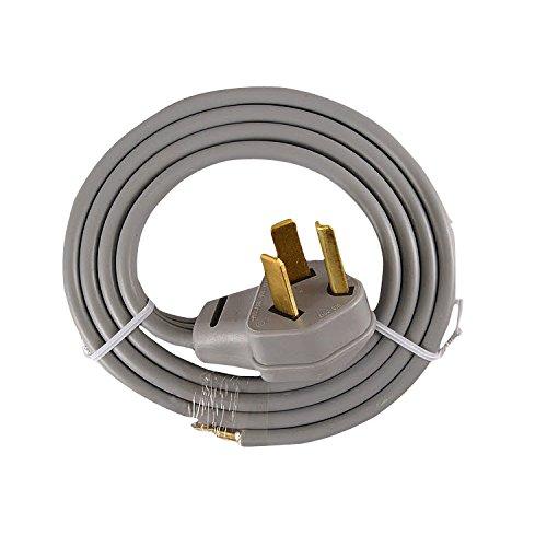WX09X10004 Frigidaire Washer Dryer Combo Universal Electric Power Cord - Frigidaire Electric Dryer Washer