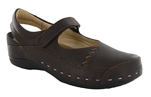 Wolky Womens 6015 Cloggy Strap Cloggy Clogs & Mules Pull Up Brown IqSsve
