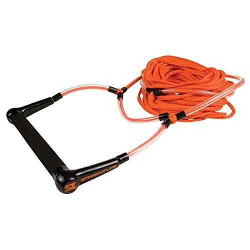 Section Ski 3 (Straight Line Elevate Deep V Handle with 3 Section (Orange, 70-Feet))