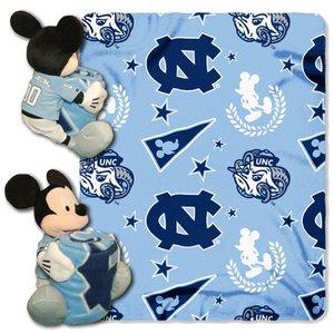 - The Northwest Company Officially Licensed NCAA North Carolina Tar Heels Co Disney's Mickey Hugger and Fleece Throw Blanket Set