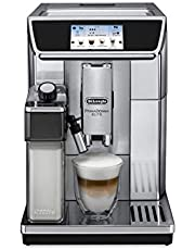 Delonghi Coffee Beans Filter Machine - Silver Dlecam650.75M