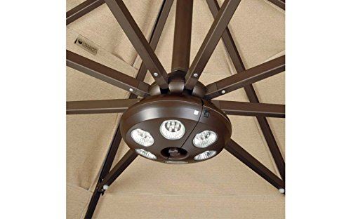 Treasure Garden Vega-L Patio Umbrella Light