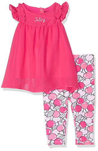 Ideas For Dress Up (Juicy Couture Baby Girls 2 Pieces Legging Set, Watermelon Beach/Print, 3-6)