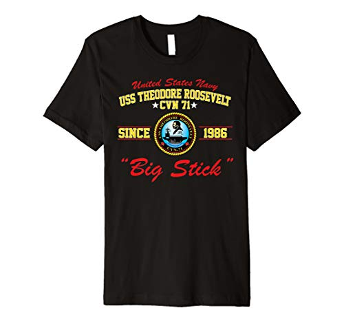 (USS Theodore Roosevelt CVN-71 Aircraft Carrier Shirt)