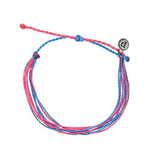 Pura Vida Originals Hot Pink Blue Mystery Bracelet - Special Edition - Hot Blue Bracelet Charms
