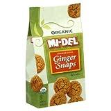 Mi-Del Organic Ginger Snaps 8 Oz