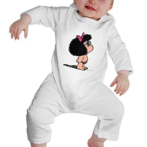 Crazy Popo Girl's Boy's Toda Mafalda Long Sleeve Romper Bodysuit Playsuit Outfits -