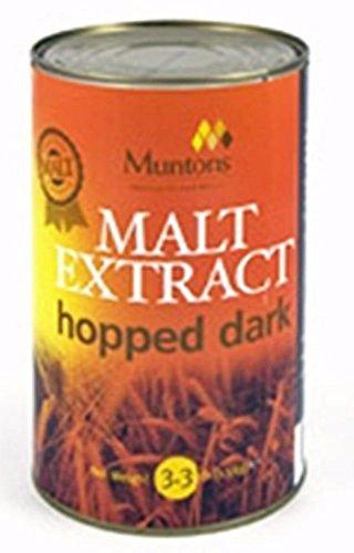 - Malt Extract hopped dark 1.5kg (3.3 lbs)