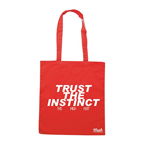 Borsa TRUST THE INSTINCT - Rossa - FILM by Mush Dress Your Style