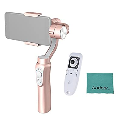 """Zhiyun Smooth-Q 3-Axis Handheld Gimbal Stabilizer Wireless Control Vertical & Horizontal Shooting Mode for Smartphone 3.5"""" to 6"""" in Dimension for iPhone HUAWEI Xiaomi Smartphone with Remote Control"""