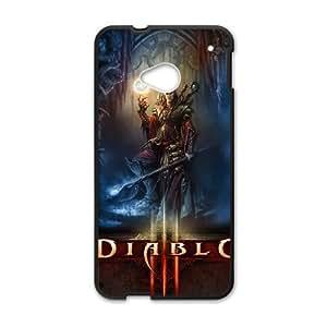 Diablo III HTC One M7 Cell Phone Case Black Tribute gift PXR006-7593553