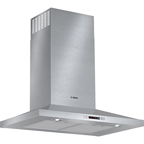 300 Series HCP30651UC 30 Wide Pyramid Canopy Chimney Hood with 600 CFM Centrifugal Integrated Blower Four Speed Touch Controls with LCD Display Aluminum Mesh Filters in Stainless (600 Cfm Centrifugal Blower)