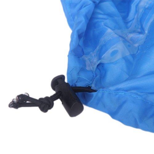 Campeggio Zaino Parapioggia Blu Copertura Antipolvere 60-90L