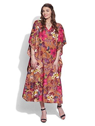 ShalinIndia - Vestido - para mujer Mehrfarbig 13