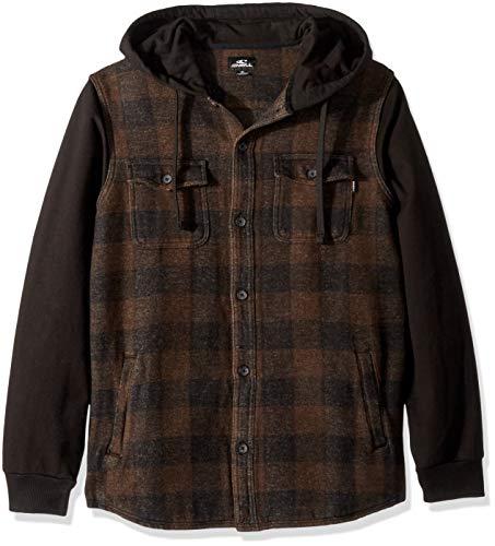 - O'Neill Men's Vapor Woven Shirt, Coffee, L