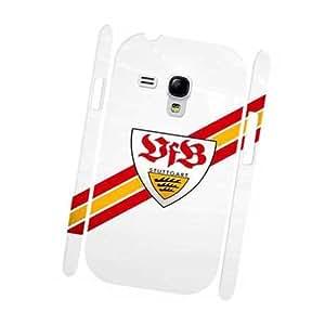 VfB Stuttgart FC Logo Handy Carcasa para Samsung Galaxy S3 Mini Tough Unique Design Hard Back Case Cover para Friend Best Gifts