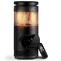1500 W Adjustable Thermostat Portable Electric Space Mini Fan Heater