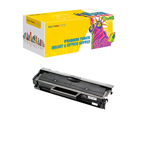 New York Toner Compatible Ink Cartridge Replacement for Samsung MLT-D111S ( Black , 1 pk )