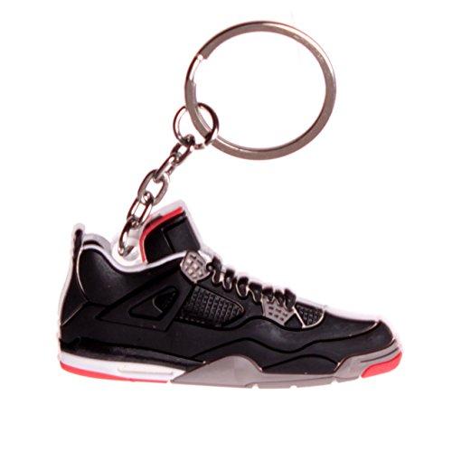 - Black Air Jordan IV Sneaker Keychain