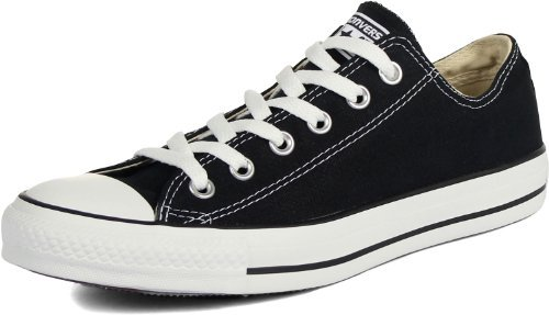 - Converse Chuck Taylor All Star Low Top Unisex Canvas Oxford Shoes (9 Mens D(M) US/11 Womens B(M), Black)