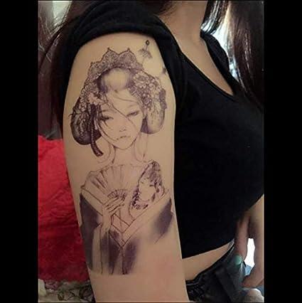 ruofengpuzi Adesivo tatuaggioFlor Brazo Pegatinas De Tatuaje ...