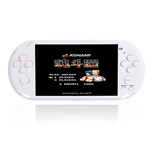 RONSHIN Handheld Portable Retro Game Console Video MP3 Player Camera Kids by RONSHIN (Image #4)