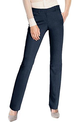navy blue dress pants for women - 2