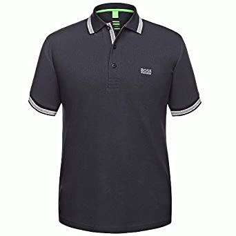 Hugo Boss Green Camisa de Polo de Paddy Negro, Navy, XXX-Large ...